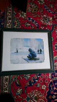 Hockey signed print Fort Erie, L0S 1B0