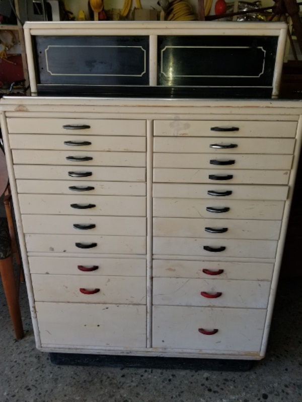 Terrific Antique Dental Cabinet St Clair Kennedy Caraccident5 Cool Chair Designs And Ideas Caraccident5Info