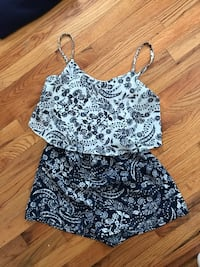two XS spring and summer rompers Abington, 02351