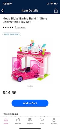 Mega blocks Barbie NEW