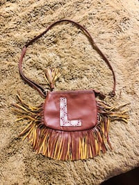 Lil Girls Fringed Purse by JUSTICE