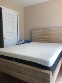 Full 12 in Memory Foam Mattress- 3 months old- Used only with mattress topper- Clean- Retail $350 Princeton, 08540