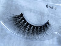 Real mink lashes (free shipping) Toronto, M6K 1T7