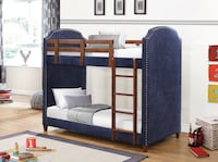Twin Twin pine wood bunkbed with 2 mattresses (new) Herndon, 20171