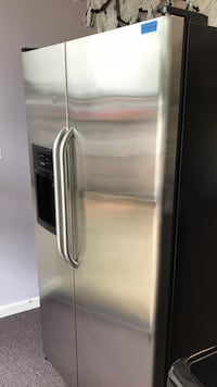 silver side-by-side refrigerator McDonough, 30252