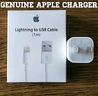 Genuine Apple Charger (Lightning Cable + USB Adapt Arlington