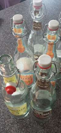 5 FRENCH SODA BOTTLES/ $2**