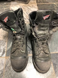 Red Wing Steel toe boots sz 11.5 US Burnaby, V5G 3X4
