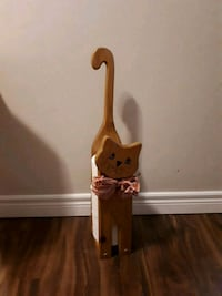 Handcrafted Kitty deco