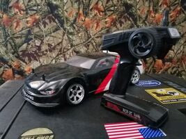 Red Cat Thunder Rc drift car