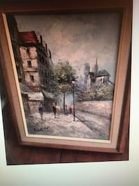Burnett oil painting  London, N5C 1J7