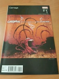 #1 Carnage comic book MARVEL movie.. Toronto, M3C 4J1