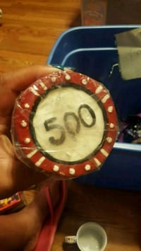 Poker Chip Candle Bedford Park