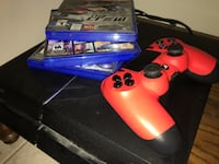 Blue sony ps4 console without the red controller وندسور, N9B