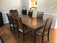 Real wood Dinning table with 6 chairs Gaithersburg, 20878