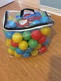 assorted plastic balls in plastic pack Vaughan, L4H 2M4