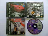 4 PlayStation Games for sale Bronson, 32621