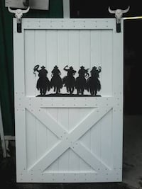 "SPECIAL Custom barn doors - $230 finished (upto 38"""" wide) Orillia"