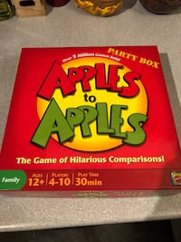 Apples to apples game box Victoria, V8W