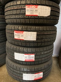 265/65R17 Americus Touring Set Of 4 New Tire We Finance No Credit Needed Sunnyvale