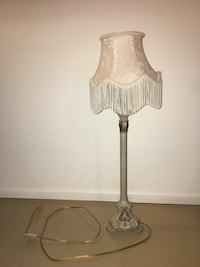 Antique tall lamp