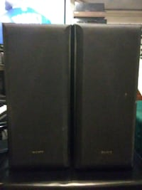 Pair of Sony SS-B3000 Bookshelf Speakers