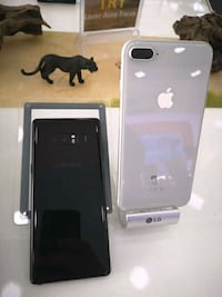 silver iPhone 7 plus with box Maryland