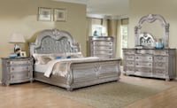 $$$ SUPER SALE FOR VICTORIA DAY $$$  Brand new Queen Bed 6 pcs $$$ SPECIAL WEEKEND $$$ null