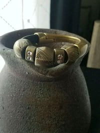 Modern Leather and Metal Bracelet Alexandria, 22304