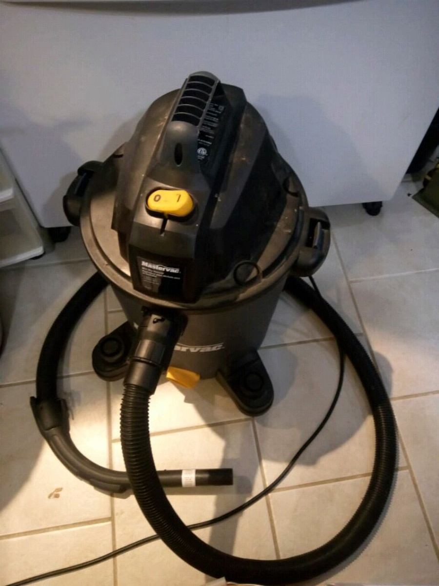 black and gray wet and dry vacuum cleaner for sale  Ajax