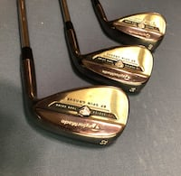two black and brown golf clubs San Antonio, 78261