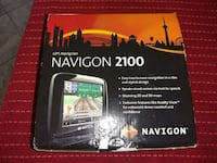 Navigon 2100 GPS in box with accessories and maps of Continental US st Alexandria