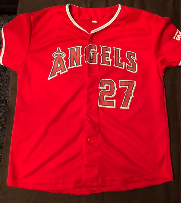 1611308be3e Used Angels Mike Trout Baseball Jersey Bobblehead for sale in Corona ...