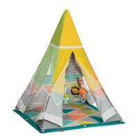 New Infantino Grow-With-Me Playtime Teepee Silver Spring