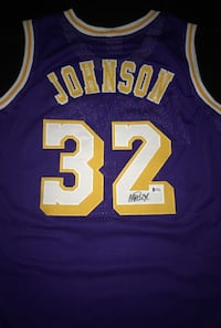 Magic Johnson Signed Lakers Jersey comes with coa Brampton, L6W 2G2
