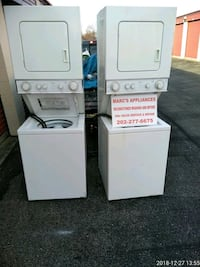 white stackable washer and dryer Prince George's County, 20746