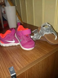 Baby girl Nike's and sandals Henderson, 42420