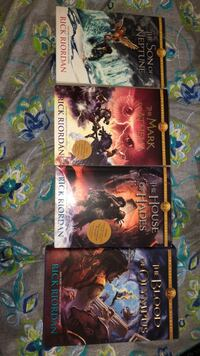 Percy Jackson Series All Books Except for the First One.