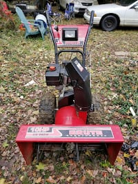red and black Brute snow blower Bowie, 20715