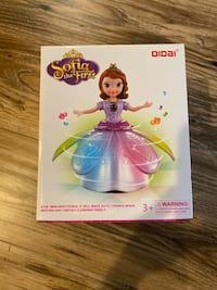 Sofia the First Dancing Doll w/ Light & Sound - toy Ashburn, 20147
