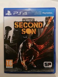 InFamousSecondSon (ps4)  Bursa, 16200