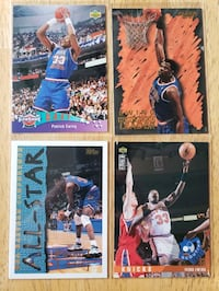 Patrick Ewing New York Knicks NBA basketball cards  Gresham, 97030