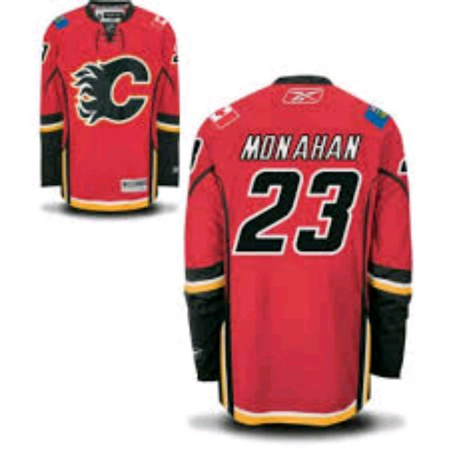 Flames jersey official game jersey brand new