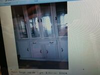 white wooden cabinet with mirror Mississauga, L5A 4C6