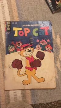 Top Cat book by Hanna-Barbera Broadview Heights, 44147