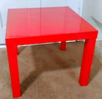 IKEA Red side table  Los Angeles, 91324