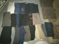 Men's jeans and trousers null