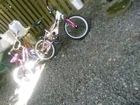 2 kids bikes for girls big one needs chain fixed  Gaithersburg, 20879