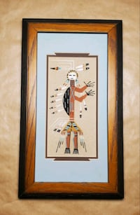 Navajo Sand Painting Middle River, 21220