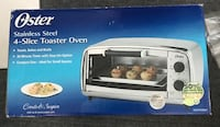 Oster stainless steel 4 slice toaster oven Foster City, 94404